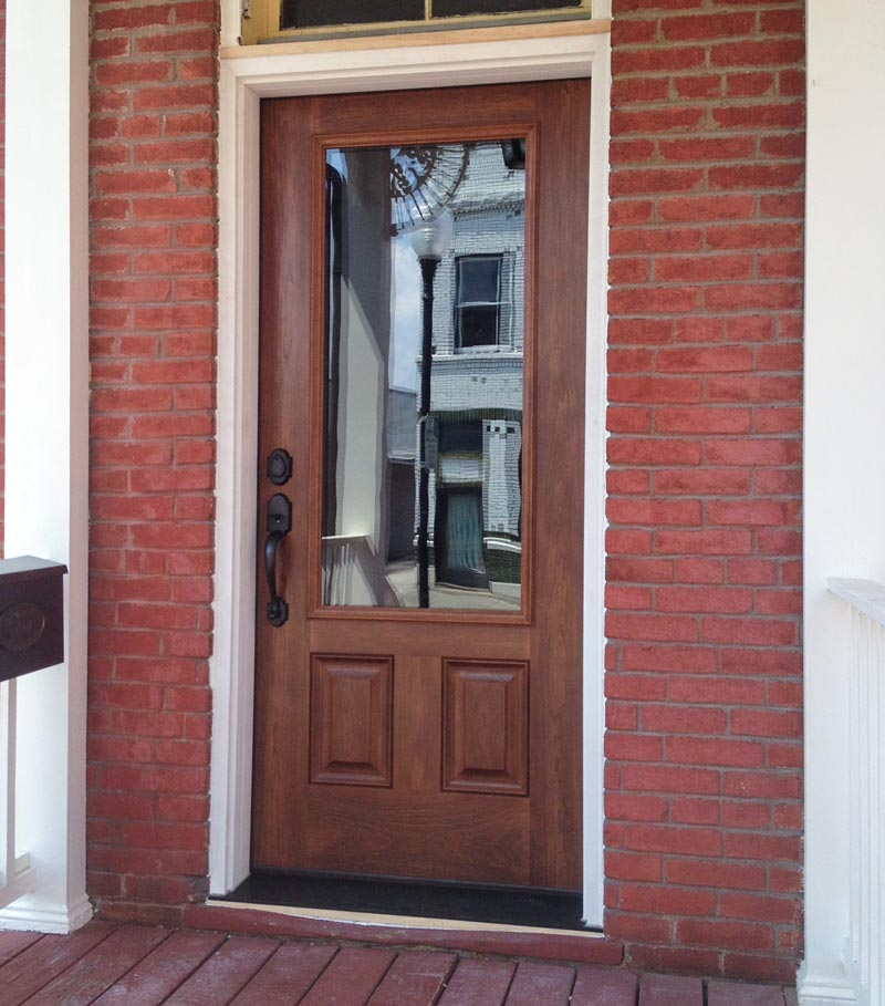 Entryway updates for Transition windows for homes